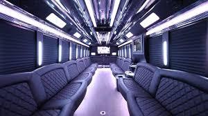 Clayton MI limo bus